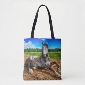 Het rustende Canvas tas van het Paard van de Vlek