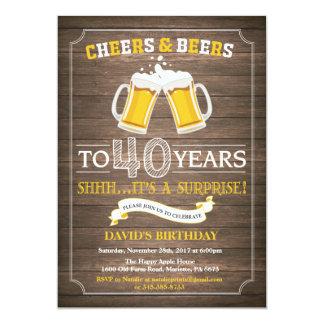 Het rustieke Bier verrast de 40ste Uitnodiging van