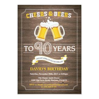 Het rustieke Bier verrast de 90ste Uitnodiging van