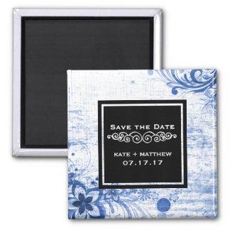 Het rustieke Huwelijk bewaart de Datum | Blauwe Magneet