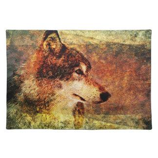 Het rustieke Onderleggertje van de Wolf van het Ho Placemat