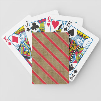 Het rustieke Riet van het Snoep van de Jute Poker Kaarten