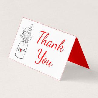 Het rustieke Rood van het Huwelijk dankt u de Plaatskaart