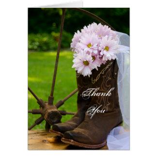 Het rustieke Roze Huwelijk van de Laarzen van de Kaart