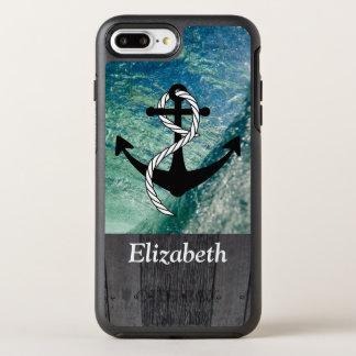 Het rustieke Zeevaart OceaanHoesje van de Telefoon OtterBox Symmetry iPhone 8 Plus / 7 Plus Hoesje