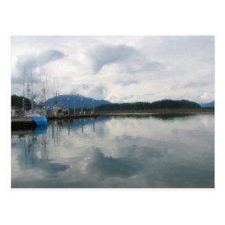 Het rustige Briefkaart van de Baai