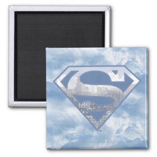 Het s-Schild van de superman Koelkast Magneet