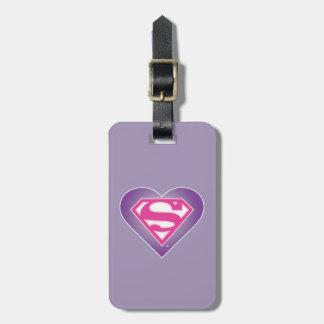 Het s-Schild van Purple Heart Bagagelabel