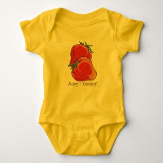 Het sappige Yummy Kruippakje van Aardbeien Romper