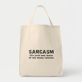 Het SARCASME het is enkel één meer van mijn vele Draagtas