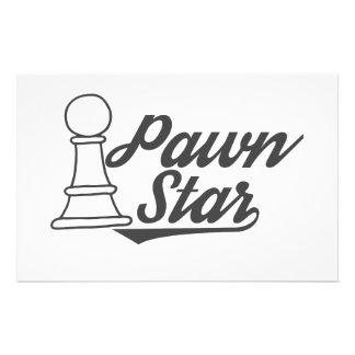 het schaakclub van de pandster briefpapier