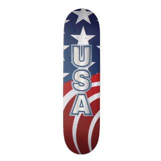 Het Schaats van de V.S. Skate Deck