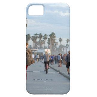 het schaatsen aan Venetië strand Barely There iPhone 5 Hoesje