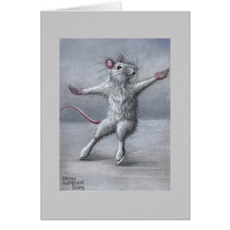 Het schaatsen op de Kaart van de Rat van het Ijs