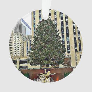 Het Schaatsen van de Boom NYC Rockefeller Kerstmis Ornament