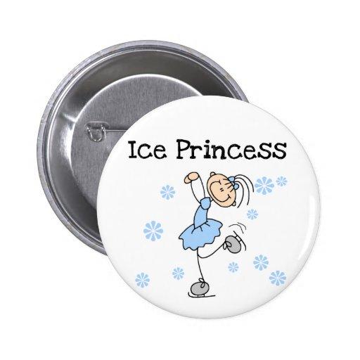 Het Schaatsen van het ijs de T-shirts en de Giften Speld Buttons