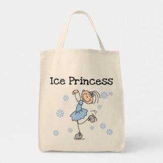 Het Schaatsen van het ijs de T-shirts en de Giften Canvas Tas