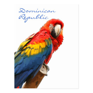 Het scharlaken Briefkaart van de Dominicaanse