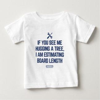 Het schatten van het Overhemd van de Lengte van de Baby T Shirts