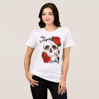 het schedel rood rosed thejudged het t shirt