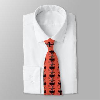 Het schijfgolf helemaal over halsstropdas eigen stropdas
