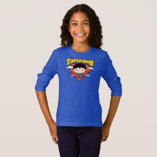 Het Schild en de Naam van de Stip van de Superman T Shirt