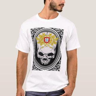 Het Schild van de Schedel van Portugal T Shirt