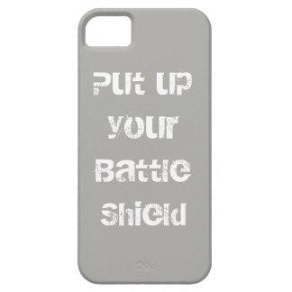 Het Schild van de slag Klaar voor Actie Barely There iPhone 5 Hoesje