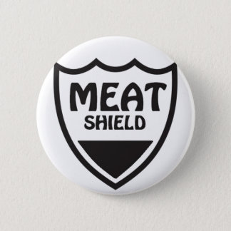 Het Schild van het vlees Ronde Button 5,7 Cm