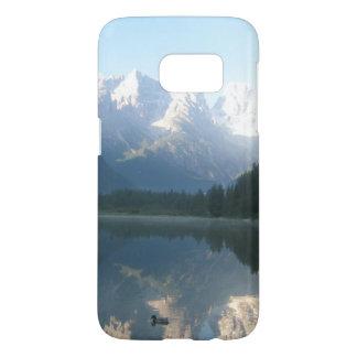 Het schilderachtig Meer van de Berg Samsung Galaxy S7 Hoesje