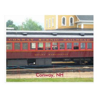 Het Schilderachtig rr Briefkaart van Conway