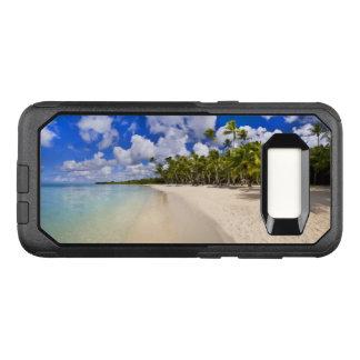 Het Schilderachtig Tropische Ontwerp van het OtterBox Commuter Samsung Galaxy S8 Hoesje