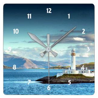 Het Schilderachtig Uitzicht van Schotland van de Vierkante Klok