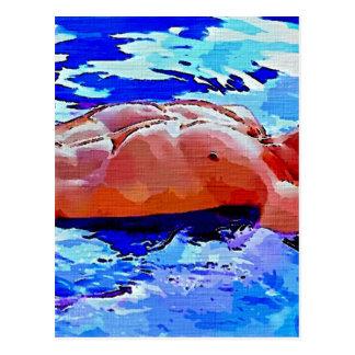 Het schilderen: Bezinningen in Blauw Briefkaart