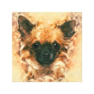 Het Schilderen van Chihuahua van de kunst van de Canvas Afdrukken