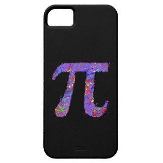 Het Schilderen van de Actie van het Symbool van pi iPhone 5 Cover