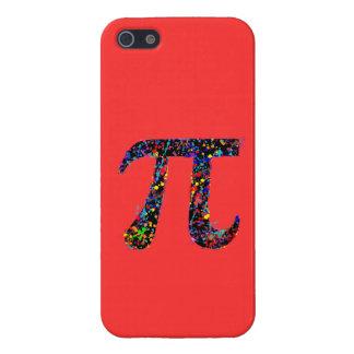 Het Schilderen van de Actie van het Symbool van pi iPhone 5 Covers