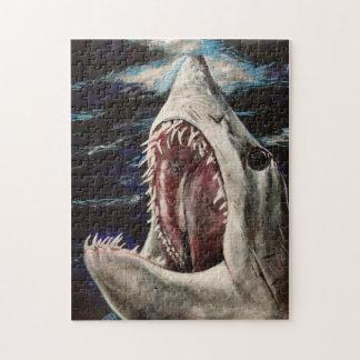 Het Schilderen van de Haai van Mako Raadsel Puzzel