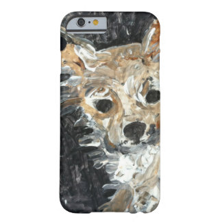 Het Schilderen van de Hond van Yorkie Barely There iPhone 6 Hoesje