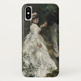 Het Schilderen van de Impressionist van Renoir van iPhone X Hoesje