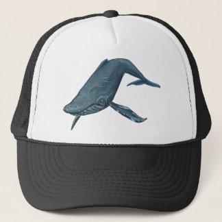 Het Schilderen van de Walvis van de gebochelde Trucker Pet