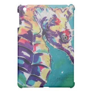 Het Schilderen van de Zijde van het zeepaardje iPad Mini Case