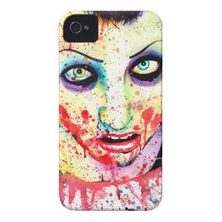Het Schilderen van het Meisje van de Zombie van iPhone 4 Hoesje