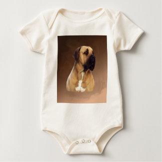 Het Schilderen van het Portret van de Hond van de Baby Shirt