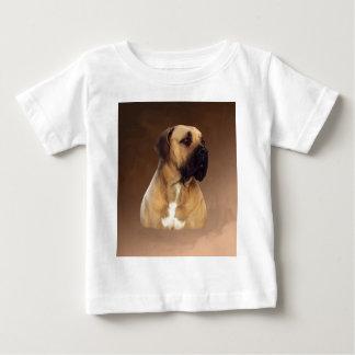 Het Schilderen van het Portret van de Hond van de Baby T Shirts