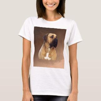 Het Schilderen van het Portret van de Hond van de T Shirt