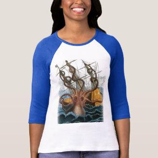 Het schilderen van Kraken door Pierre Denys de T Shirt