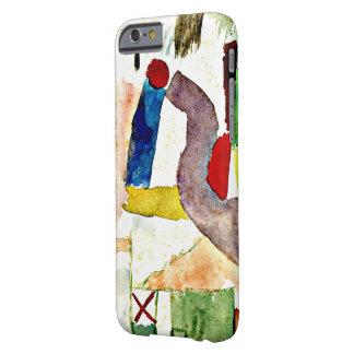 Het schilderen van Paul Klee - Pathetische Barely There iPhone 6 Hoesje