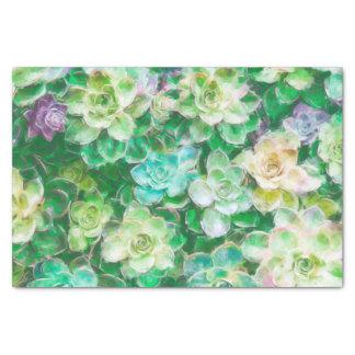 Het Schilderen van Succulents door Cindy Bendel Tissuepapier
