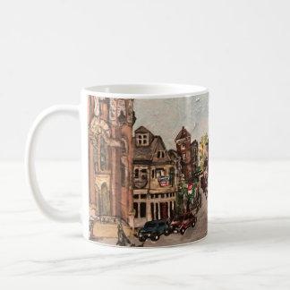 Het Schilderen van weinig Italië, Cleveland Ohio Koffiemok